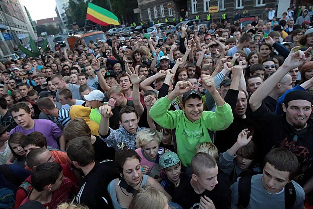 12.06.2010 Parada Prolegalizacyjna w Krakowie, kanabis.info