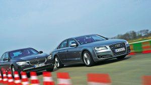 Nowe Audi A8 kontra BMW Serii 7