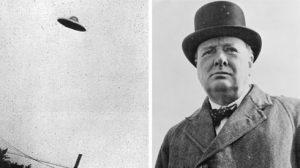 UFO, Churchill i Eisenhower