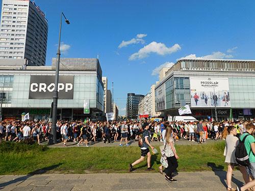 Marsz Wyzwolenia Konopi 2015 Warszawa, kanabis.info