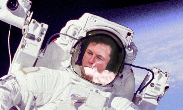 Jaranie w Kosmosie? Elon Musk Dostarcza Marihuanę na Stację ISS, kanabis.info